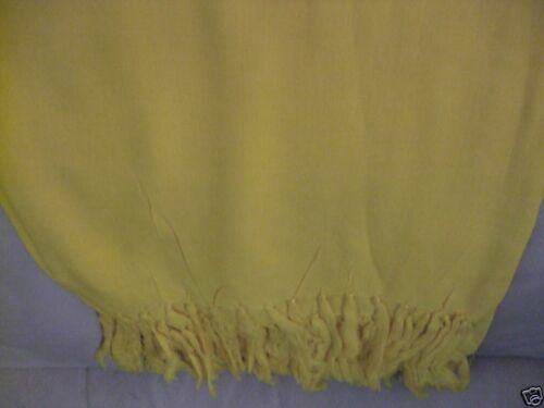 New Yellow Pashmina//shawl//wrap//scarf 100/% Rayon SALE