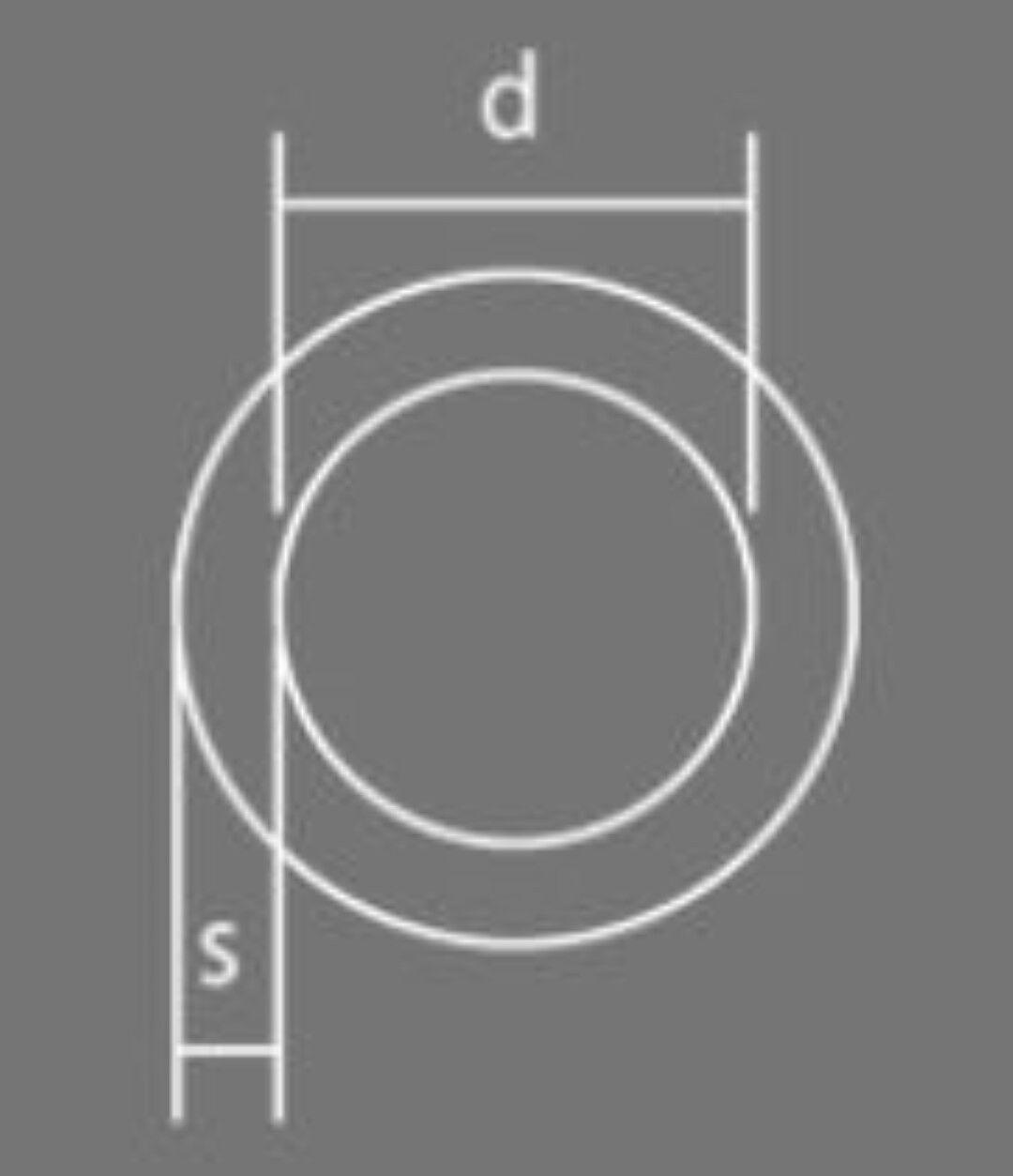 100 x Rundring verzinkt 40 x 4 mm    O-Ring Ringe Ring Rundringe O-Ringe 4d0ef6