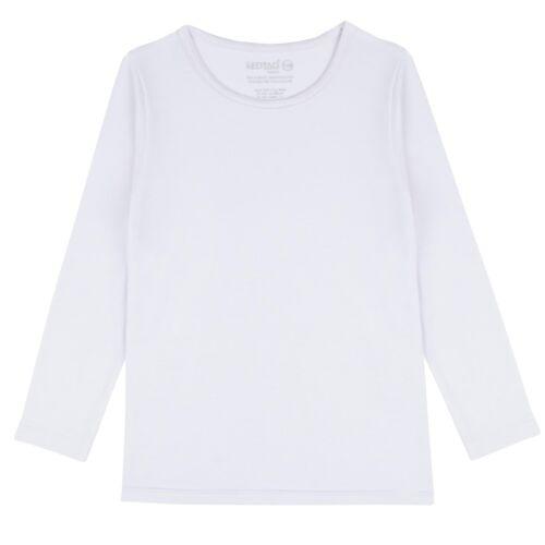 Childrens Long Sleeve Thermal Top Thermal Underwear ~ 7-13 Years