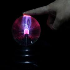 3inch USB Plasma Ball Sphere Light Magic Crystal Lamp Desktop Globe Laptop O8