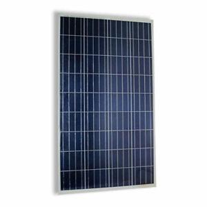 Pannello Solare Fotovoltaico CELLE silicio 100 W Watt 12v Batteria Energia