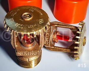"""Sprinkler Sprinklerkopf #16 Viking VK350 SSU   rot   68°C//155°F  3//4/"""""""