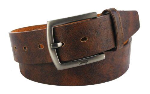 Cintura Uomo Donna Cintura Marrone Cintura Jeans Cintura genarbt variegata #hrg8d