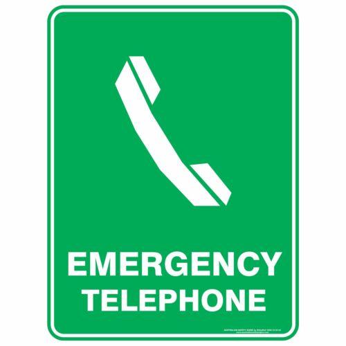 EMERGENCY TELEPHONE Emergency Signs