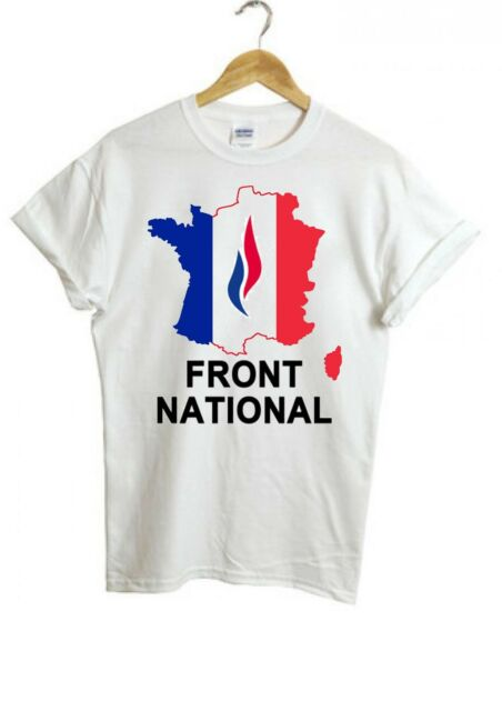Front National FN parti politique Carte de France Femme Homme Unisex T shirt 333