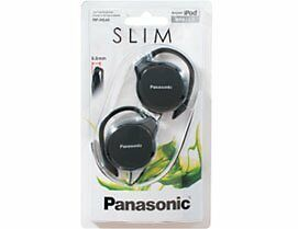 NEW Panasonic RP HS46E K Slim Clip on Earphone Black FREE SHIPPING