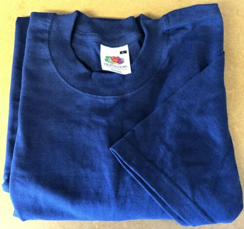 Size Large Clearance Fruit of the Loom Men/'s Navy Premium T-Shirt