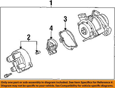 1994 ford aspire wiring diagram ford oem 94 97 aspire distributor cap f4bz12106a ebay  ford oem 94 97 aspire distributor cap