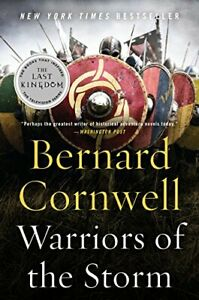 NEW-Warriors-of-the-Storm-A-Novel-Saxon-Tales-by-Cornwell-Bernard