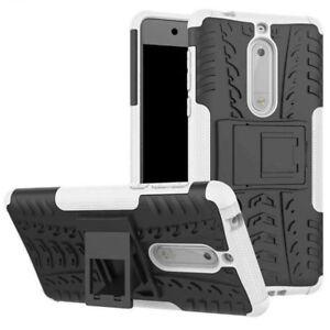 Carcasa-hibrida-2-piezas-EXTERIOR-BLANCO-Funda-para-Nokia-5