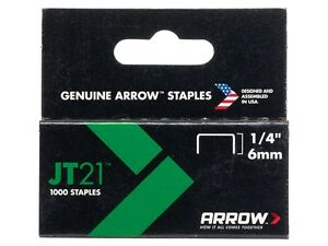 Arrow-JT21-6mm-1-4-Staples-Box1000-ARRJT2114S