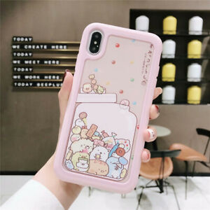 Kawaii Sumikko Gurashi Hard Phone Case Shockproof Cover For Iphone Xs Max 6s 7 8 Ebay