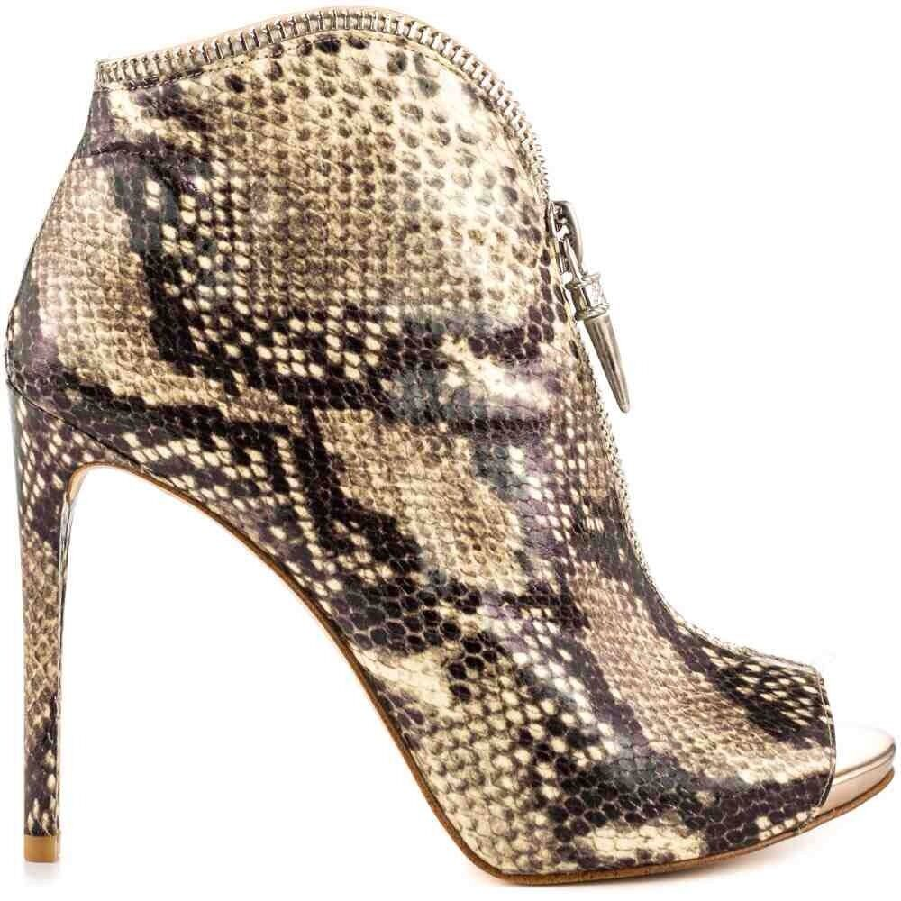 5f97a7b5430  139 Single Guess Conroe Zippered Booties Zippered Snake Print Single Sole  Sole Size 8.5 f4709e2