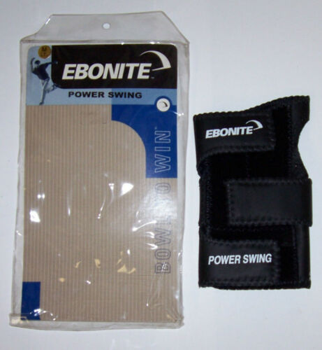 Ebonite Power Swing Weighted Bowling Glove NEW RIGHT HAND MEDIUM  FREE SHIP