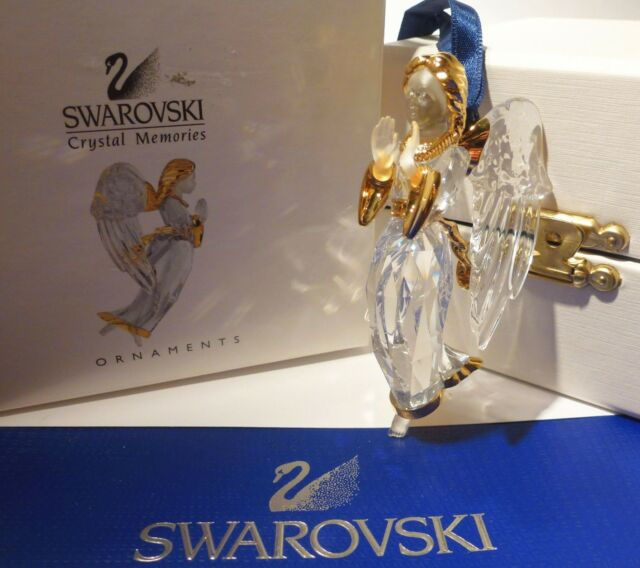 Swarovski Crystal Christmas Ornament Angel 2000 - 243453 - Angelo NEW IN BOX