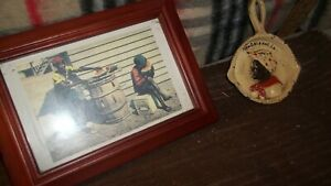 AFRO-AMERICAN-NEW-ORLEANS-LA-IRON-SKILLET-AND-FRAMED-UNPOSTED-POSTAL-CARD