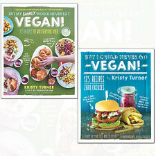 Kristy Turner Collection But I Could Never Go Vegan! 2 Books Set Pack NEW [PB]