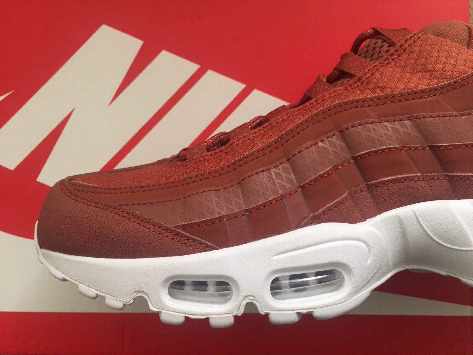NEW homme Nike Air Max 95 Premium SE Trainers Sneakers Limited Edition Retro