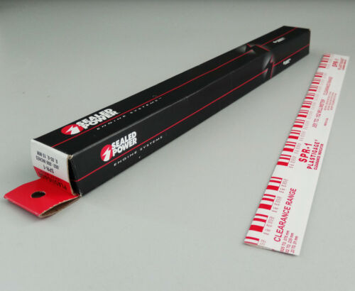 PLASTIGAGE messstreifen 0.051-0.152mm rouge PLASTIGAUGE spr-1