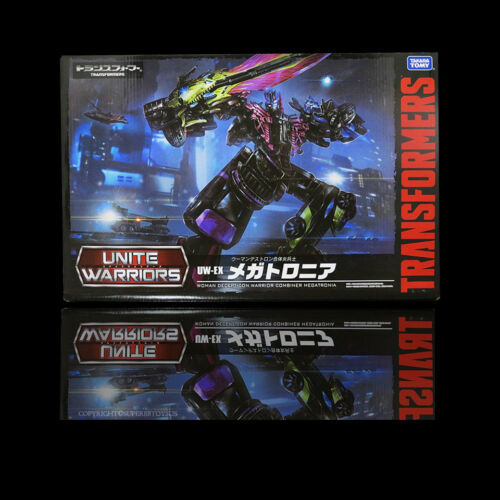 100/% Takara Transformers Unite Warriors UW-EX Megatronia Action Figure NEW