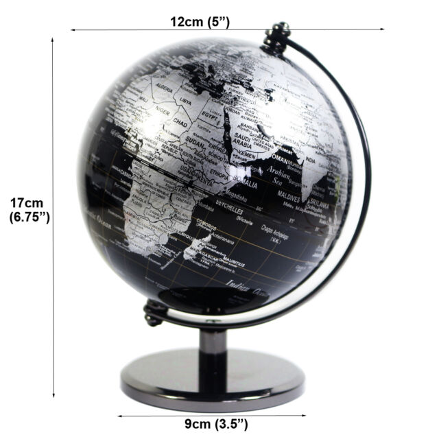 At0904qf vintage black decorative desktop rotating geography world picture 7 of 7 gumiabroncs Images