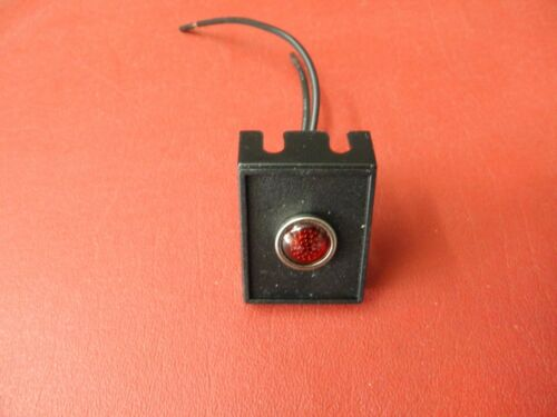 RED INDICATOR LIGHT FOR NITROUS ELECT FUEL PUMP MANY USES HOT ROD ITEM# 2206