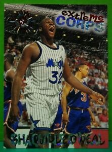 Shaquille-O-039-Neal-subset-card-Extreme-Corps-1995-96-Topps-Stadium-Club-119