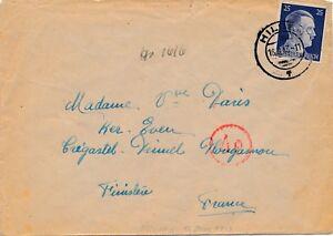 WWII-Lettre-Camp-WITT-HILDEN-Brief-Germany-Deutsch-Lager