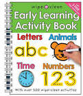 Wipe Clean Early Learning Activity Book by Roger Priddy (Paperback, 2007)