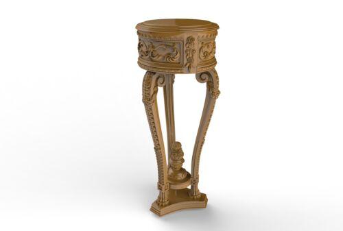 Engraver Carving Machine Relief Artcam Round Table 3d STL Model CNC A151