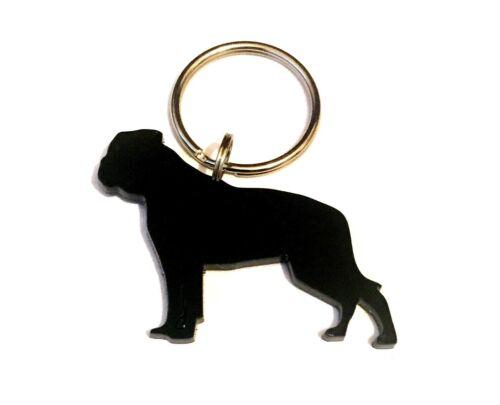 American Bulldogge Schlüsselanhänger Schlüsselbund Tasche Anhänger Band Gift IN