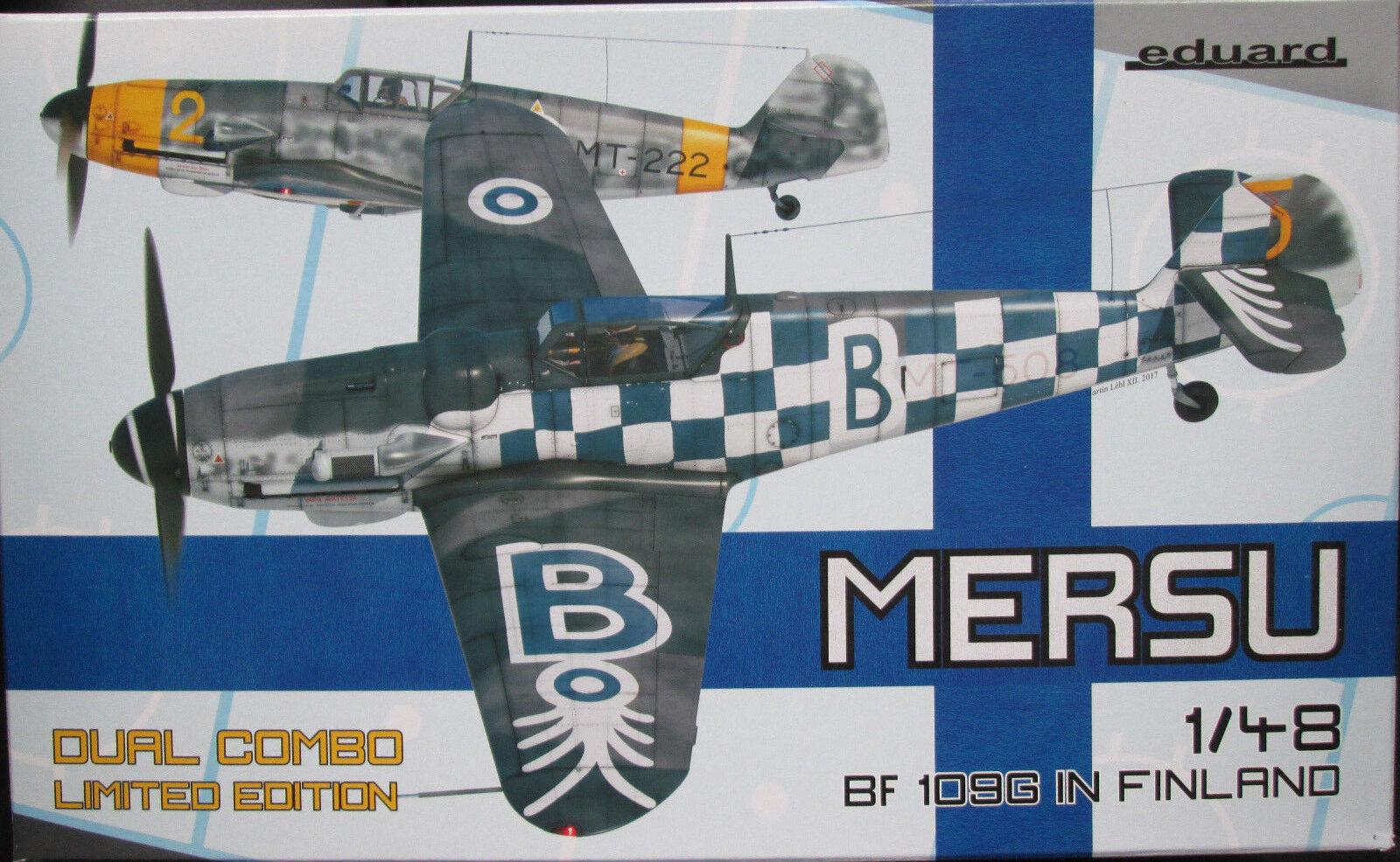 Eduard 1 48 EDK11114 Messerschmitt Bf109G 'Mersu' Finnish Dual combo Ltd Ed kit