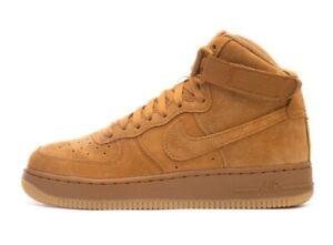 Shoes NIKE Air Force 1 High Lv8 (GS) 807617 701 WheatWheat Gum Light Brown