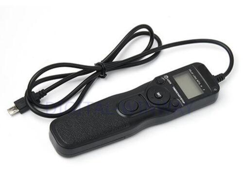 Temporizador cable de control remoto de liberación del obturador Para Sony HX400 HX50 A7R A7 A58 A6000 RM-VPR1