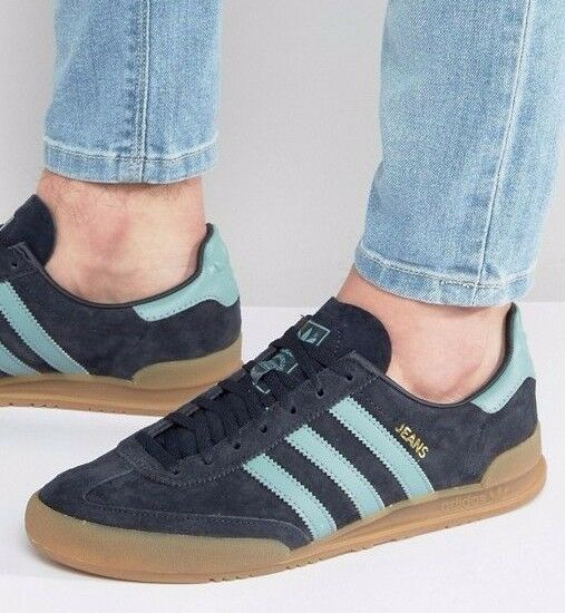 Adidas Originals Blau Jeans Trainers Night Navy  Vapour Steel