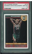 2013 Panini Hoops #275 Giannis Antetokounmpo ROOKIE RC #290 PSA 10 GEM MINT