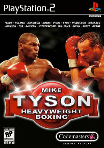 1 of 1 - Mike Tyson Heavyweight Boxing (Sony PlayStation 2, 2002)