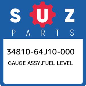 34810-64J10-000-Suzuki-Gauge-assy-fuel-level-3481064J10000-New-Genuine-OEM-Part