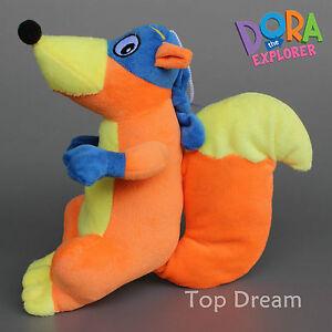 New-Dora-The-Explorer-Swiper-The-Fox-Soft-Plush-Doll-Stuffed-Toy-9-039-039-Kids-Gift