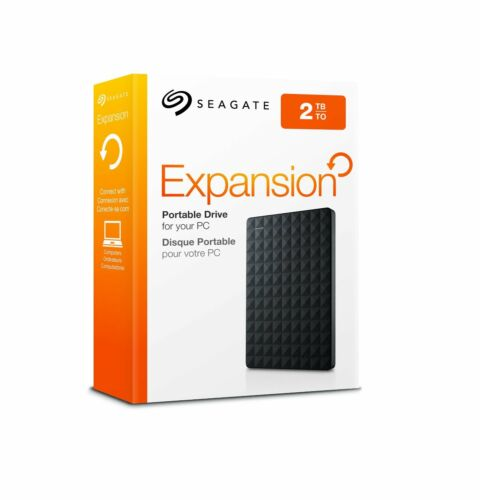 STEA2000400 NEW Seagate Expansion 2TB Portable External Hard Drive USB 3.0