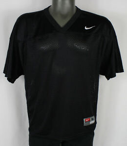 c2ba28a74ec2 Nike Blank Back Black   White Football Mesh Practice Jersey Mens M ...