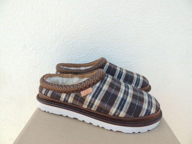 509a3cd1569 UGG for Men Tasman Plaid Pendleton Wool / Leather Chestnut Slippers Size 8  US