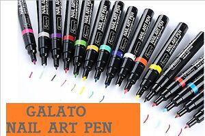 1-Stueck-Nail-Art-Pen-Nagellackstift-Nagel-Stift-Liner-Lackmalstift-viele-Farben