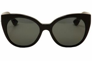 8a2117f8cebe Authentic MIU MIU Women s Black Cat Eye Stardust Sunglasses. Model ...