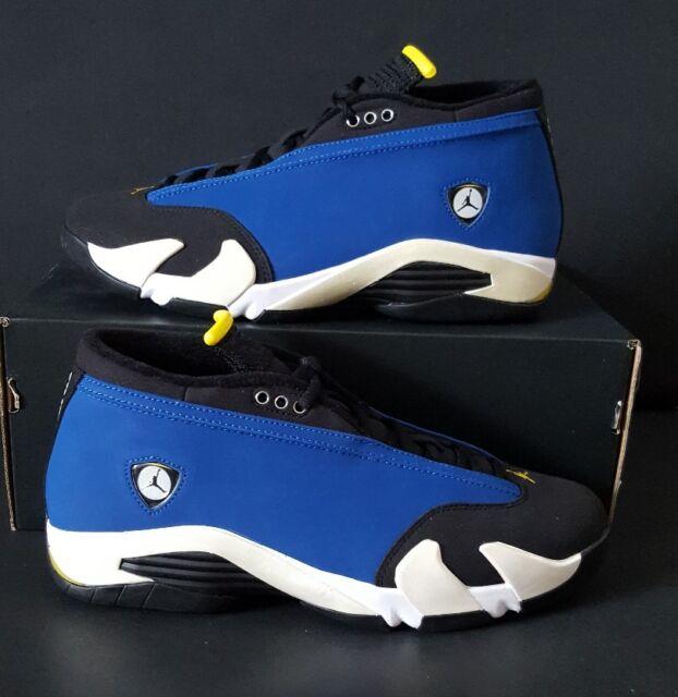 sports shoes a90ec e1965 Air Jordan 14 Retro Low Laney Varsity Royal Blue 807511-405 Size US 9