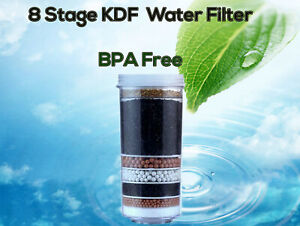 8 Stage Aimex Water Filter Cartridges Activated Charcoal Minerals Ceramic KDF x1