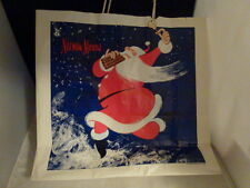 Neiman Marcus Christmas Paper Shopping Bag 1983 Illustrated Hiasthfeld Santa Vtg