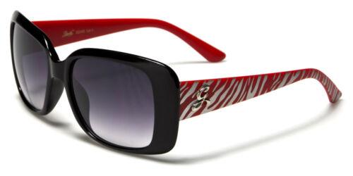 Giselle Rectangle Slim Shades Women/'s Animal Print Sunglasses 100/%UV400 22045