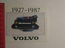 Aufkleber/Sticker: Volvo 1927 1987 (131216120)