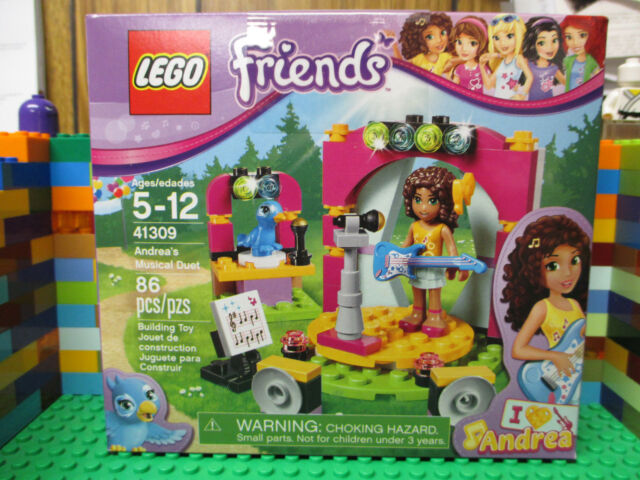 Lego Friends Andreas Musical Duet Building Play Set 41309 Ebay